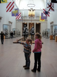 Children explore more than just paintings at the Metropolitain Museum of Art in New York City.