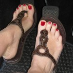 Toes on the Road
