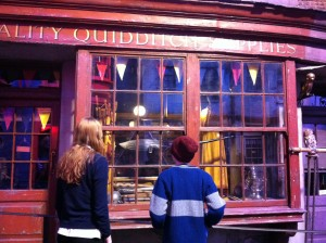 Shopping in Harry Potter's London